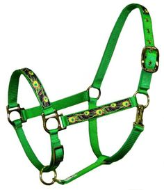 Winner's Circle Horse Supplies, Saddlebred and Gaited Horse Specialists - Neon Peacock Halter