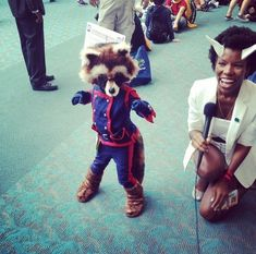 Rocket Raccoon via tyndalecode