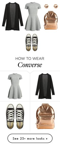 """Sem título #1411"" by malu-880 on Polyvore featuring Superdry, Mi-Pac, Athleta and Converse"
