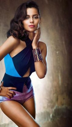 Kangana Ranaut's photoshoot for Vogue India magazine JAN 2014 #Fashion #Style #Bollywood #Beauty
