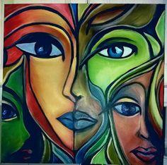 Mosaic Glass, Stained Glass, Mushroom Art, Girl Drawings, Mandala Drawing, Modern Art, Facial, Behance, Paintings