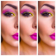 My attempt of using the new Urban Decay Electric palette. :)