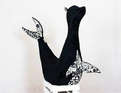 Monochrome Trends @GiraffeJewelbox  by Katherine Parker on Etsy
