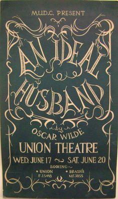 """Oscar Wilde, """"An Ideal Husband."""""""