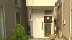 House in Tokyo with a footprint the size of a parking space