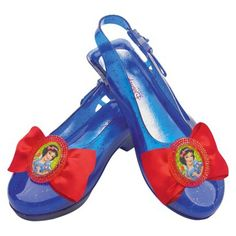 Girl's Disney Snow White Sparkle Shoes - One Size Fits Most