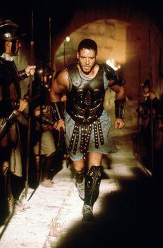Maximus Decimus Meridius - Russell Crowe in Gladiator, set in AD 180 (2000).