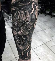 A badass person is defined as someone who is tough, intimidating and uncompromising. These are also qualities that most macho men would love to possess. As such badass tattoos for men are one of the… #maoritattoosforearm #tattoosformenbadass #TattooIdeasForMen
