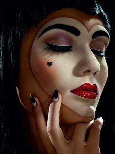 Loving 'Pretty Clown' Makeup!