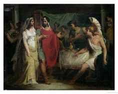 """""""The Wedding of Alexander the Great and Roxana"""", 1810 ~ Pierre-Narcisse Guerin"""