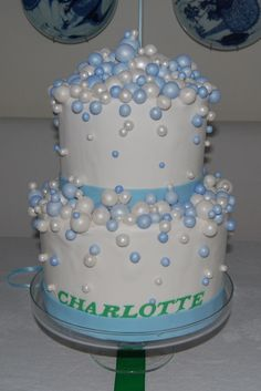 bubble cake, would be a fun birthday cake