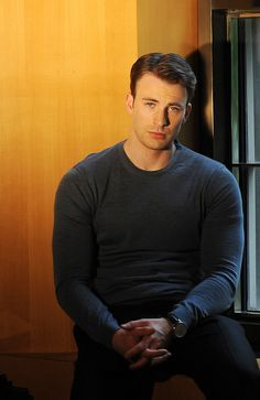 Chris Evans photographed for the Boston Globe by Jennifer S. Altman July 11, 2011 in New York City