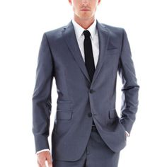 """<p>Update your formal style with this herringbone suit jacket from JF J. Ferrar, featuring an eye-catching, lustrous fabric and modern, slim fit.</p><div style=""""page-break-after: always;""""><span style=""""display: none;"""">"""