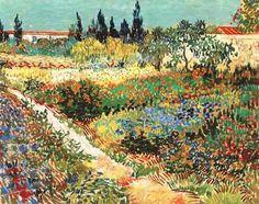 Arles, novembre 1888. Alla sorella Wilhelmina.Non so se capirai che si può fare una poesia solo disponendo sapientemente dei colori, così come si possono dire cose consolanti in musica. Allo stesso modo, alcune linee bizzarre, scelte e moltipllcate, serpeggianti in tutto il quadro, non devono dare un giardino nella sua rassomiglianza volgare, ma disegnarcelo come veduto in sogno, nel tempo stesso reale, eppure più strano che nella realtà. (Van Gogh)