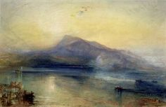 The Dark Rigi 1842 | Joseph Mallord William Turner