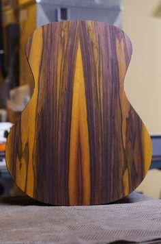 Unique Indonesian Rosewood - Casper Guitar Company build