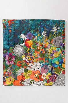 Hothouse quilt from Anthropologie
