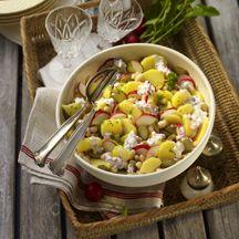 Würziger Kartoffel-Bohnen-Salat