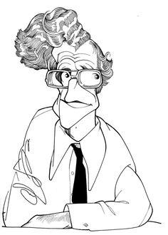 Noam Chomsky by Cássio Loredano