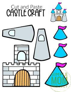 Are you in need of a fun castle craft for your princess tea party? Well look no further because the free printable castle template is available for download now. You can build your own paper castle and decorate it however you please. Add icicles for a Frozen theme or perhaps rewatch Tangled for a Rapunzel theme. This medieval castle craft is perfect for kids of all ages, boys, girls, preschoolers, toddlers and even kindergartners. Print your castle template now! #castlecraft #castletemplate… Princess Tea Party, Princess Castle, King Craft, Castle Crafts, Rainy Day Crafts, Storybook Characters, Frozen Theme, Medieval Castle, Painting For Kids