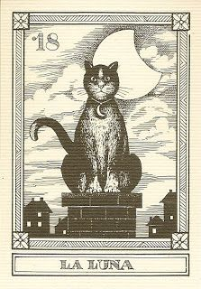 tarot - the moon-- looks like Graves!