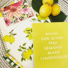 Maybe the only thing better than lemonade is limoncello! Our Kate Spade goodies make us happy happy happy!! Come Saturday shopping with the TF Girls today!! #Tfssi