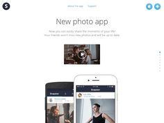 Snapster website / Pavel Shumakov