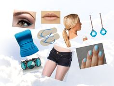 """""""bleu"""" by aimy21 on Polyvore"""
