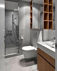 Minimalistic Urban Dwelling in Vilnius house vilnius bathroom decor 1