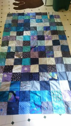 Weighted blanket top