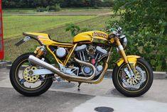 Harley Davidson News – Harley Davidson Bike Pics Sportster Cafe Racer, Harley Davidson Sportster 1200, Bobber, Custom Harleys, Custom Motorcycles, Custom Bikes, Motorcycle Baby, Motorcycle Style, Cafe Racer Style