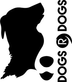 I love this logo designed for my business Dogs R Dogs by AG Signs of Honiton.  I wanted a negative space design featuring my half white face border collie, Rudi.  They looked at his markings and cleverly incorporated a retriever type dog on the left.  Incredible work.