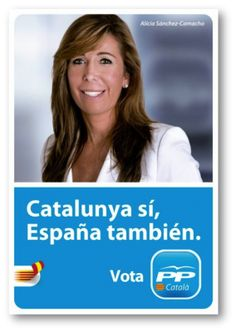 Partit Popular de Catalunya. Cartell electoral: autnòmiques 2012