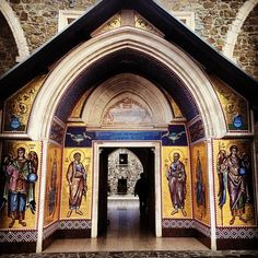 Cyprus's Painted Churches (Troodos Mountains, Cyprus) p. 172
