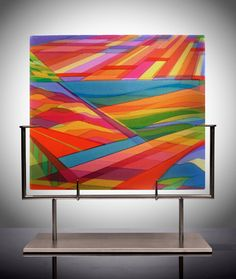 Dorothy Hafner, glass
