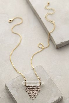 Lucent Fringe Necklace - anthropologie.com #anthrofave
