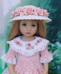Smocked-Dress-Ensemble-for-Effner-13-Little-Darling-Dolls