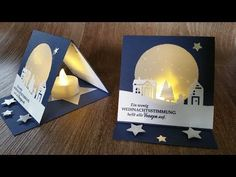 Tealight christmas card mit Produkten von STAMPIN UP - YouTube