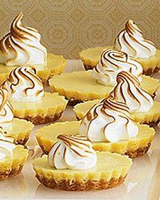 Mini Lemon Tarts - Martha Stewart.