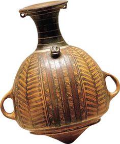 Aribalo,asi se llama este tipo de vasija perteneciente a la cultura Inca  Peru