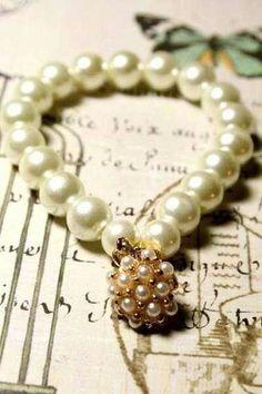 Victorian Vintage Pearls
