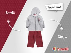 Os meninos vão arrasar com esse #lookbrandili que segue as tendências de moda do universo infantil! #temqueter