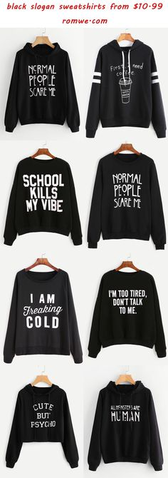 49 Ideas For Sweatshirt Jacket Ideas Life Mode Outfits, School Outfits, Casual Outfits, Cute Shirts, Funny Shirts, Teen Fashion, Fashion Outfits, Womens Fashion, Look Cool