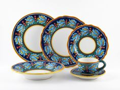 ONe of my Italian settings...I even love washing them!  sc 1 st  Pinterest & What are the most popular Italian Dinnerware patterns | Dinnerware ...