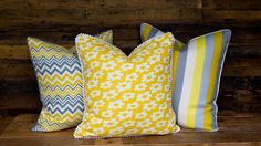 throw pillow  decorative pillow  cotton pillow  by 409Designs