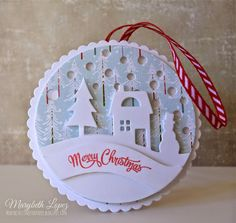 Marybeth's time for paper: Loving My Tinsel & Tag Kit!