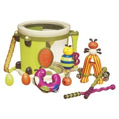 B. Parum Pum Pum Drum. Lei got this for her 1 year birthday... fun little starter music set. Would give this as a gift for any 1 yr old.