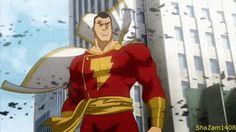 Shazam., es un superhéroe creado en 1939 por el guionista Bill Parker y el dibujante C. C. Beck, originalmente publicado por Fawcett Comics en Whizz Comics 2 (feb. 1940) y posteriormente tras la compra de los derechos del personaje en 1972 y hasta la actualidad, por DC Comics. Aunque esta última compañía es propietaria del personaje, no ocurre lo mismo con el nombre, que en 1968 fue registrado por Marvel Comics para un personaje creado a tal efecto.