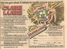 """We've got what it takes to really move your cube."""