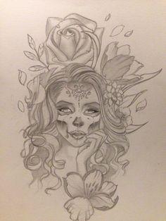 Muerte Girl roses